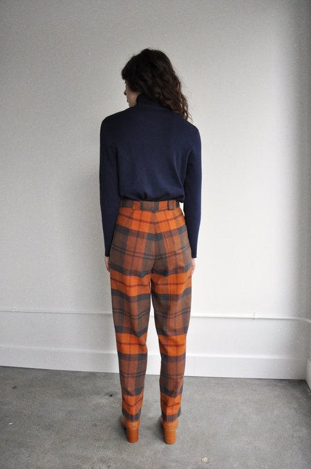 Rita Row Checkered Pants