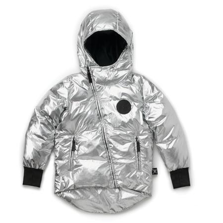 KIDS nununu down jacket - silver