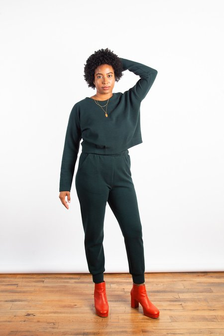 Eve Gravel On The Beat Pants - Green