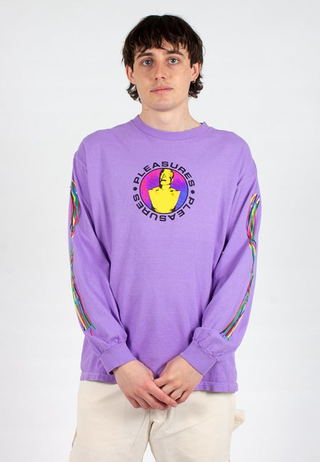 Taikan Everything Bender  Long Sleeve T-Shirt - Purple