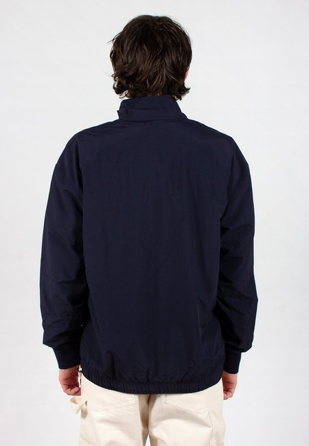 Champion Europe Peached PO Half Zip Jacket - Navy