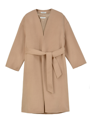 PURE CASHMERE NYC Cashmere Robe Coat - Camel
