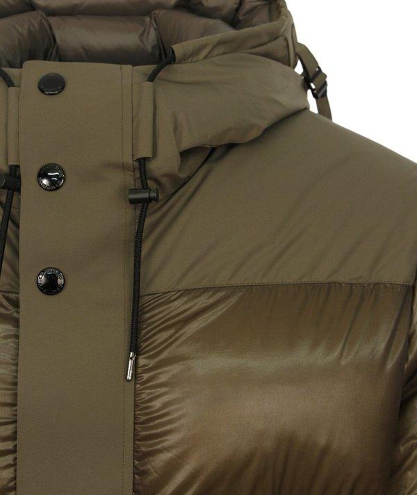 CP Company Hooded Arm Lens Down Jacket - Khaki