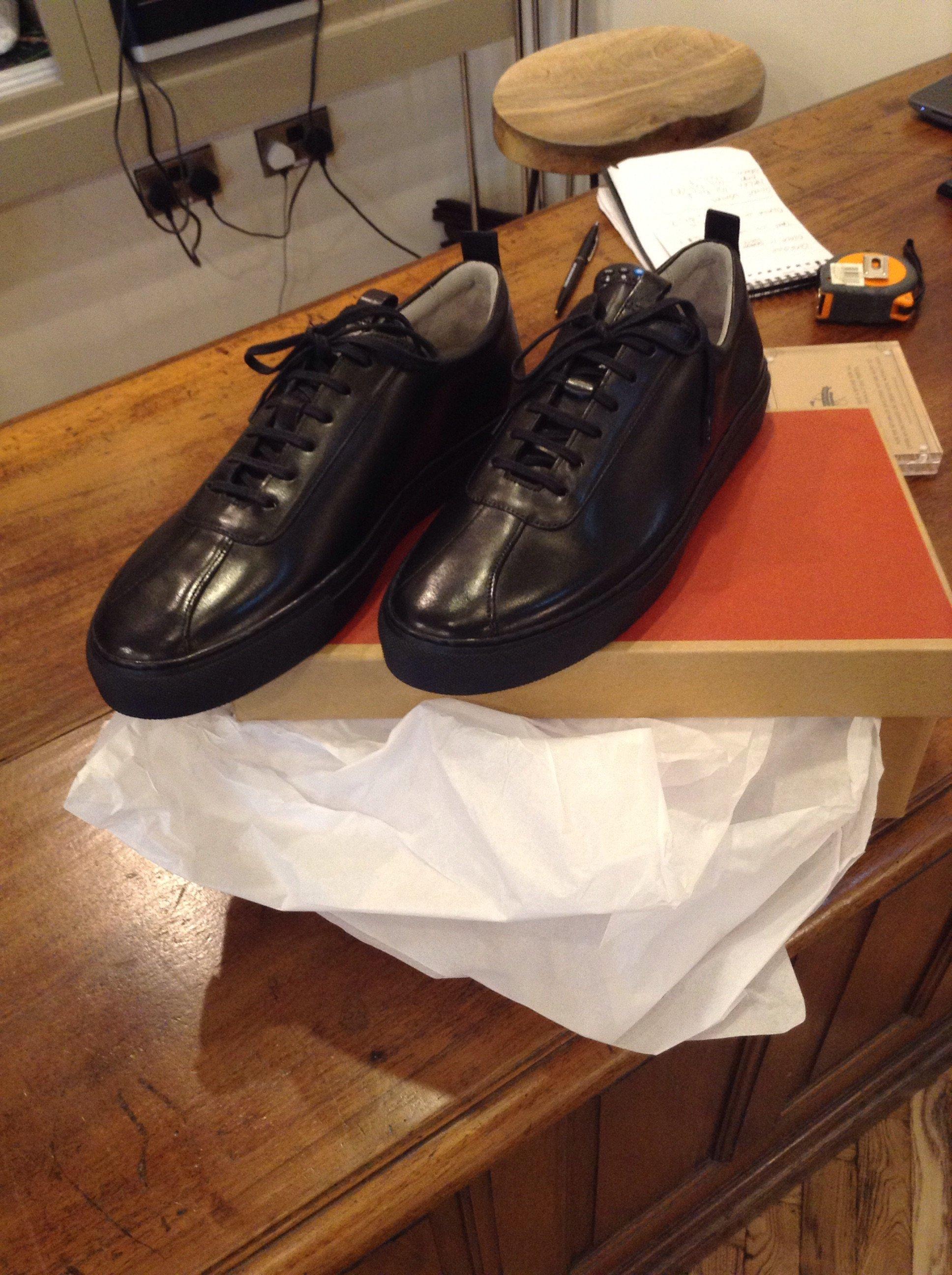 Grenson Sneaker 1 - All Black | Garmentory
