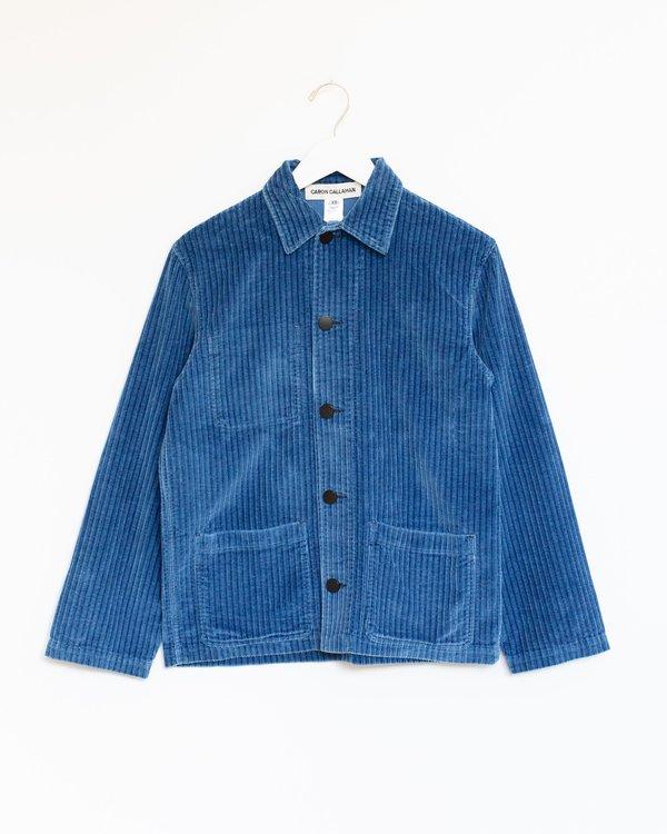 Caron callahan krasner jacket - blue corduroy