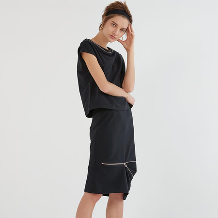 Veronique Miljkovitch Selma skirt - black