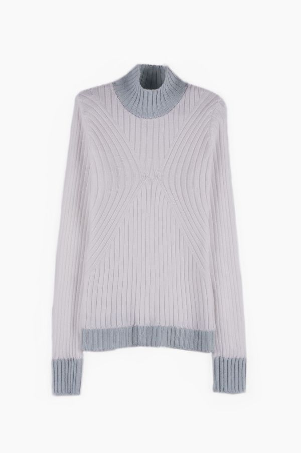 SIZ SIRIUS SWEATER - White/Light Blue