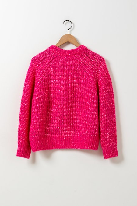 Demy Lee Chelsea Cotton Sweater - Pink