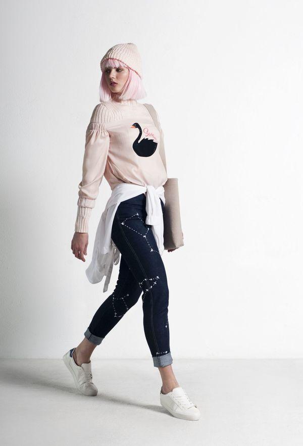 SIZ KUMA BLOUSE - Light Pink
