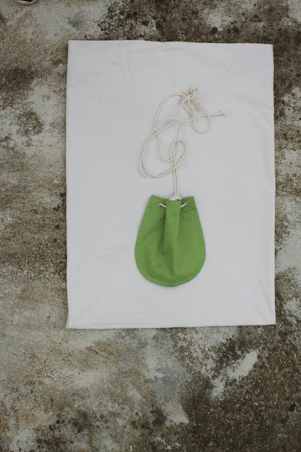 SIZ DHAKA PURSE - Light Green