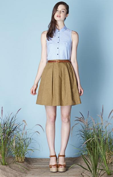 Betina Lou Clodelle Sable Skirt