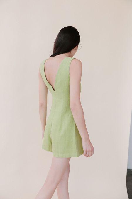 Paloma Wool Hawa Romper - Green
