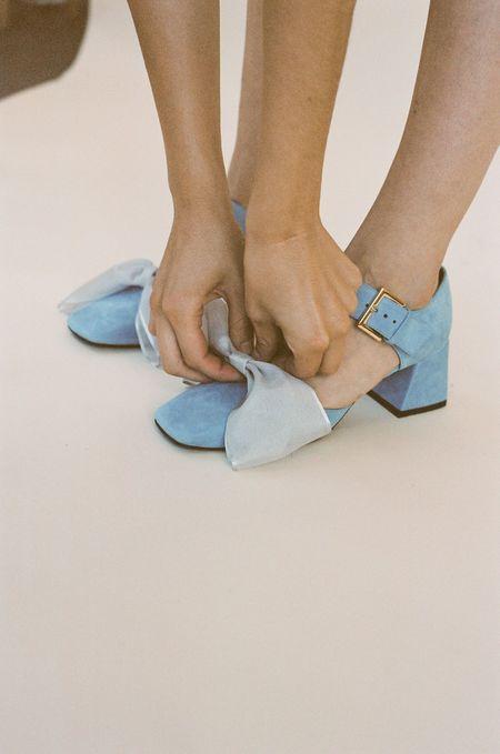 Suzanne Rae Maryjane - Blue Suede