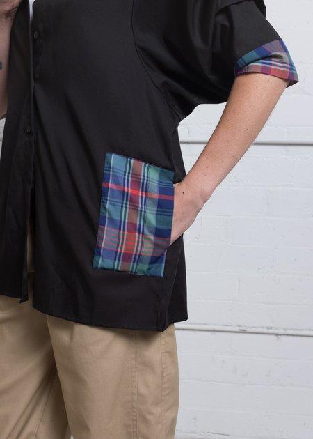 A. Oei Pleated Sleeve Shirt