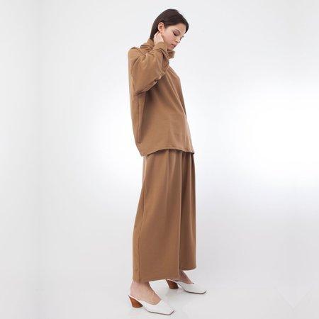 Corinne Collection Ricci High Neck Tunic - Camel