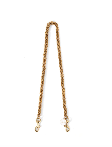 Clare V. Shoulder Strap - brass