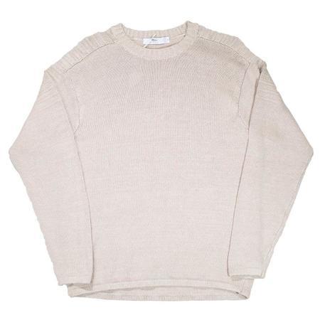 Inis Meáin Linen Crewneck Sweater - Natural