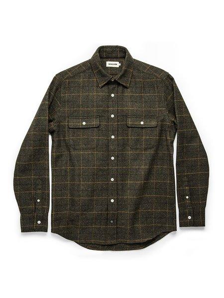 Taylor Stitch The Leeward Shirt - Olive Plaid
