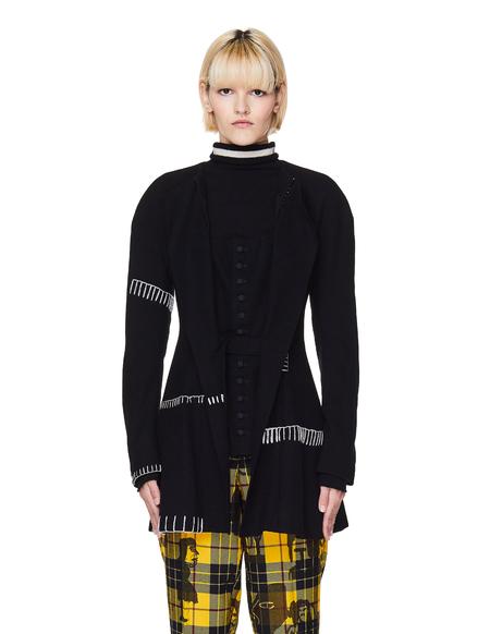 Yohji Yamamoto Wool Stitch Jacket - Black