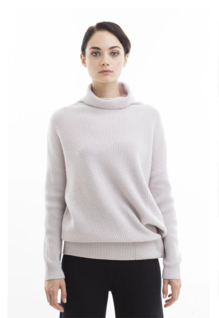 NFP STUDIO Turtleneck Pullover With Snap