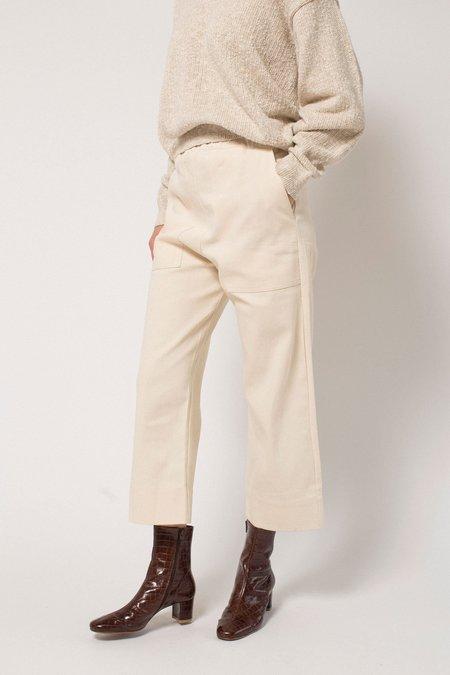 Micaela Greg Utility Pant - Cream