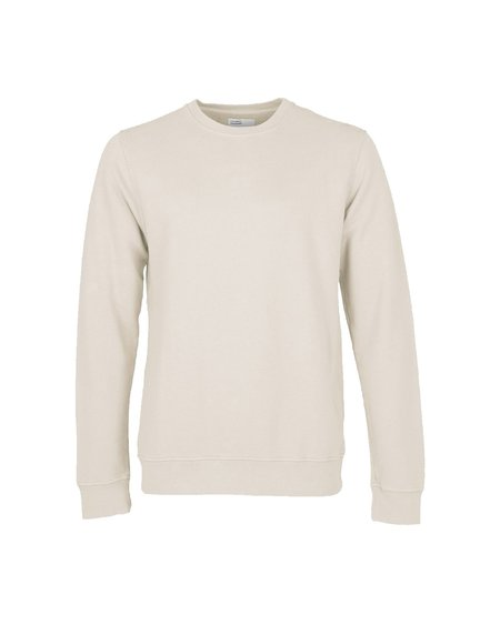 Colorful Standard Crew Neck Sweatshirt - Ivory White