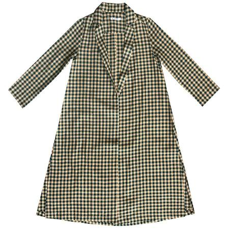 Ali Golden Gingham Notch Jacket