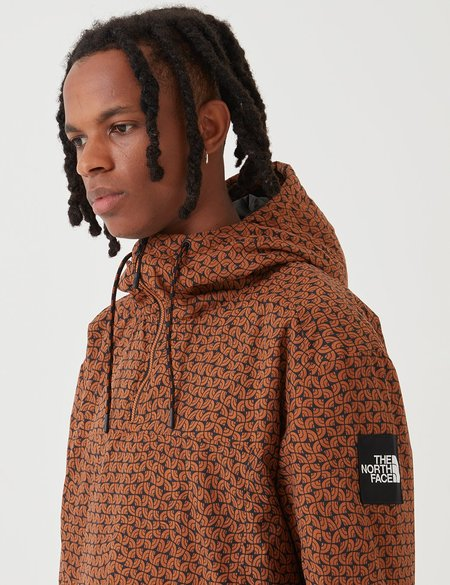 North Face Windwall Insulated Anorak Jacket - Caramel Cafe