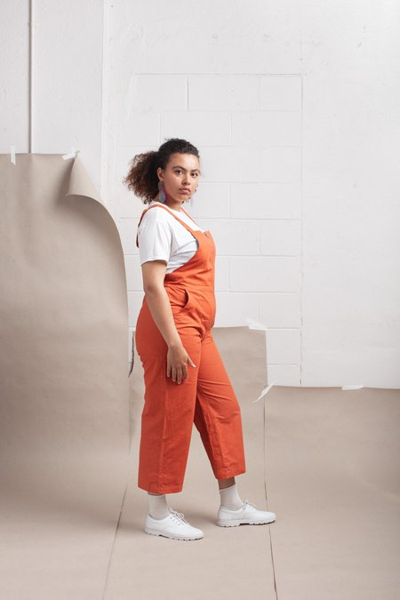 maggie jayne Dungaree - Rust Canvas