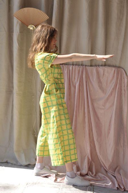 maggie jayne Day Suit - Lemon Grid