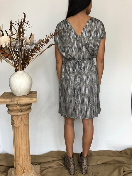Dagg & Stacey Stevie Robe Dress - Pewter