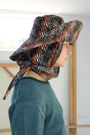Beklina Scarf Hat - Tiramisu