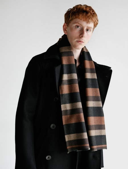 Frank Leder Wool Scarf Mix