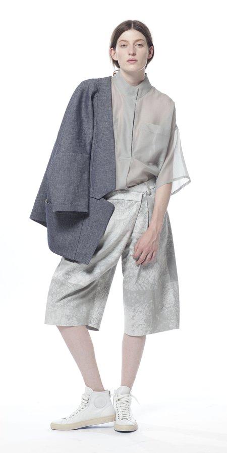 SCHAI Polygon Tunic - Fog Sheer