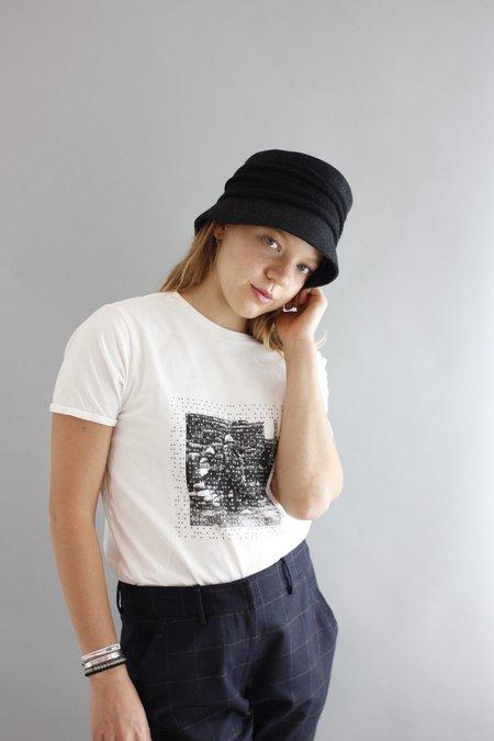 MATURE HA Melton Drape Hat