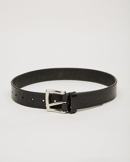EZRA ARTHUR NO. 1 BELT - BLACK