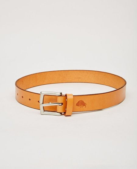 EZRA ARTHUR NO. 1 BELT - TAN