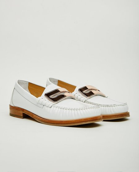 BUSCEMI TOWN LOAFER - WHITE