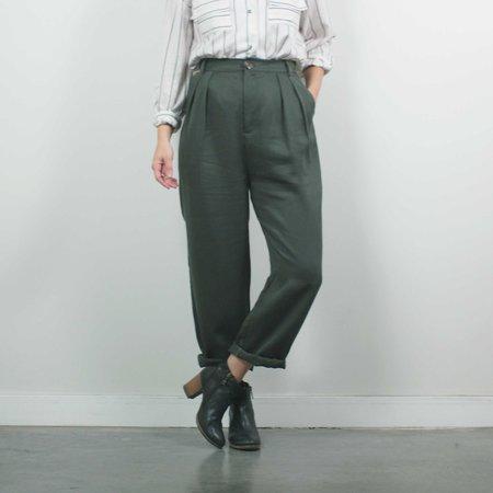 Jennifer Glasgow Nakano Trousers - Olive