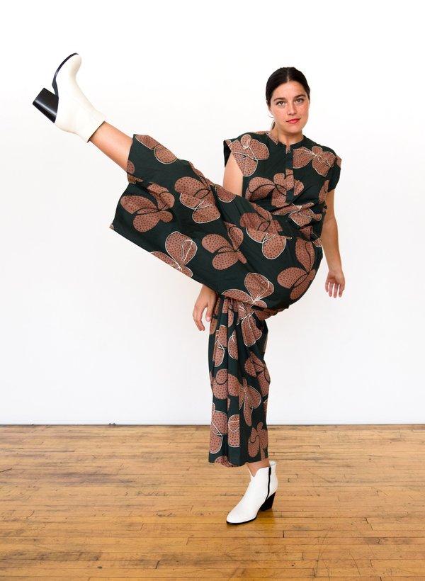 Seek Collective Savista Pants - Fern Hilma Print