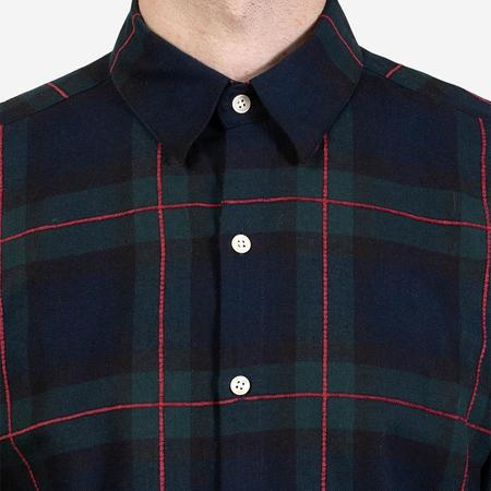 18 Waits The Dylan Shirt - Forest Windowpane