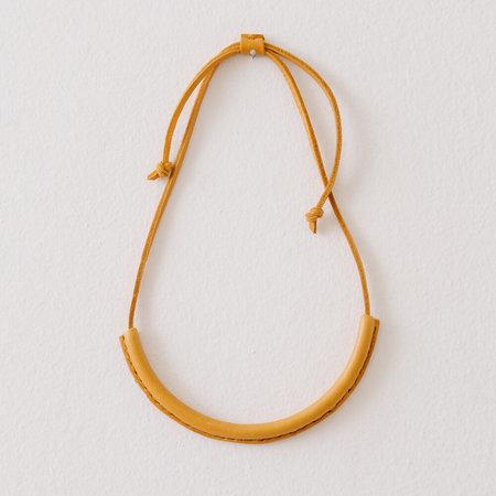 Crescioni seasonal circuit necklace - TUMERIC