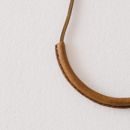 Crescioni Circuit Necklace - Olive