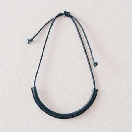 Crescioni Circuit Necklace - Indigo