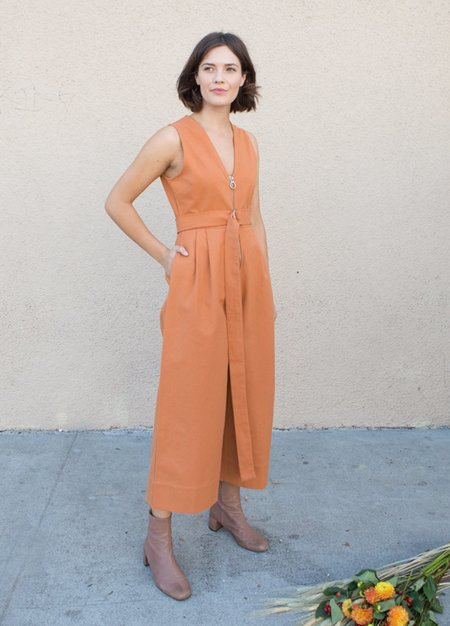 Wray Willa Jumpsuit - Clay