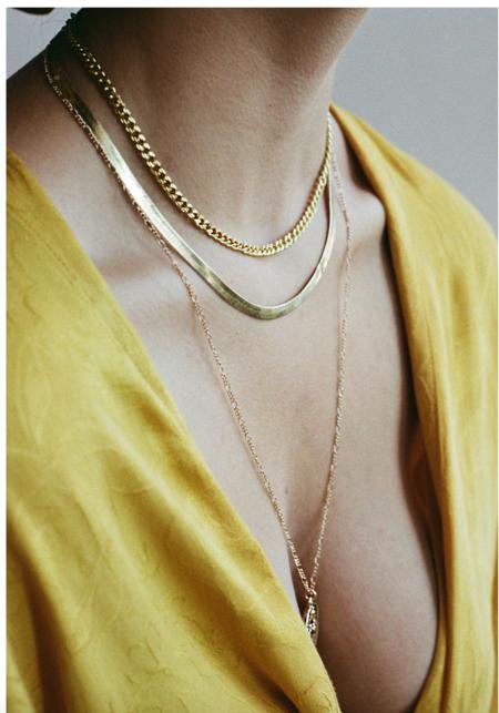 VAYU Snake Chain - gold