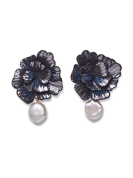 LIZZIE FORTUNATO Cosmic Flower Earrings