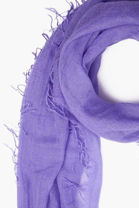 Chan Luu Cashmere Silk Scarf - Aster Purple
