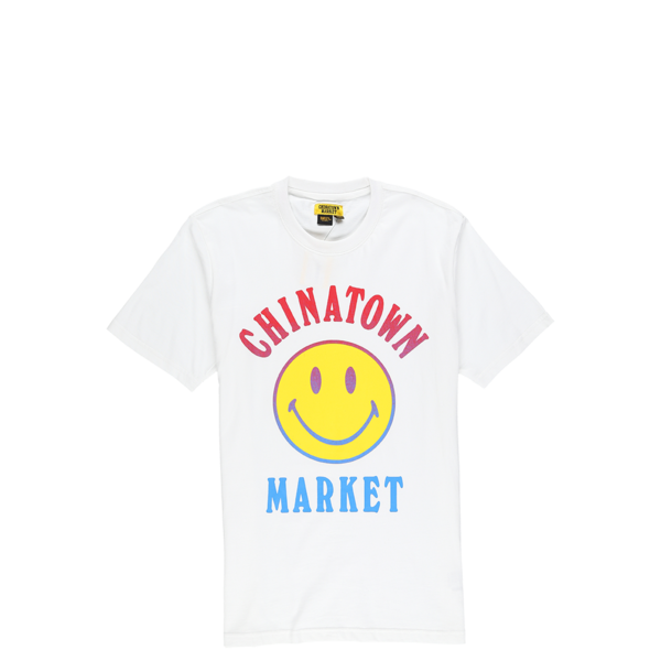 Chinatown Market Smiley Logo T-Shirt - White