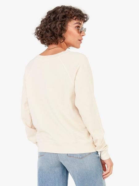 Mate the Label Women Carry The World Sweater - Bone